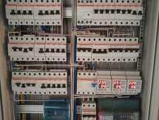 На фото пример работ: Монтаж распределительного щита, рис. 4