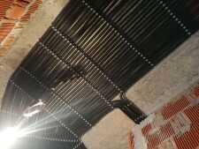На фото пример работ: Монтаж проводки по потолку, рис. 7