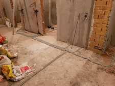 На фото пример работ: Ремонт проводки, рис. 2